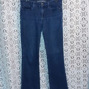 "JOES JEANS DARK WASH FLARE LEG ""PROVACATEUR FIT"""
